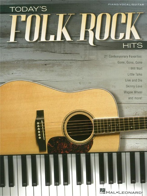 Today\'s Folk Rock Hits (PVG) - Piano, Vocal & Guitar Sheet Music ...