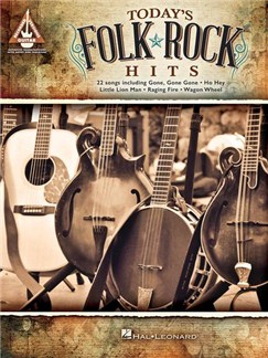 Today's Folk Rock Hits - Guitar Recorded Versions Books | Guitar Tab