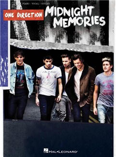 One Direction: Midnight Memories - PVG Artist Songbook Livre | Piano, Chant et Guitare