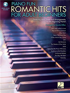 Piano Fun: Romantic Hits For Adult Beginners (Book/Online Audio) Books and Digital Audio | Piano