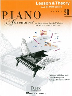 Piano Adventures: Level 2B Lesson And Theory Book - International Anglicized Edition (Book Only) Books | Piano
