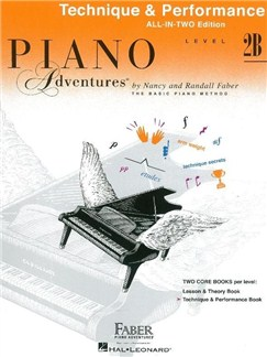 Piano Adventures: Level 2B Technique And Performance Book - International Anglicized Edition Books | Piano