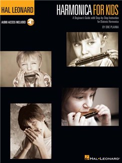 Harmonica For Kids: A Beginner's Guide With Step-by-Step Instruction For Diatonic Harmonica (Book/Online Audio) Books and Digital Audio | Harmonica