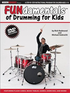 Modern Drummer Presents: FUNdamentals™ Of Drumming For Kids (Book/DVD) Books and DVDs / Videos | Drums