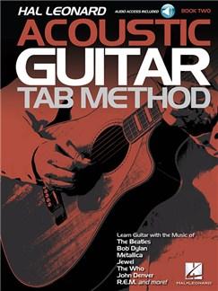 Hal Leonard Acoustic Guitar Tab Method - Book 2 (Book/Online Audio) Books and Digital Audio | Guitar
