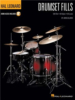 Hal Leonard Drumset Fills (Book/Online Audio) Books and Digital Audio | Drums