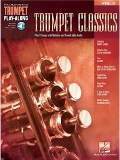Popular Hits: Trumpet Play-Along Volume 2 (Book/Online Audio) Books and Digital Audio | Trumpet