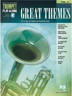 Great Themes: Trumpet Play-Along Volume 4 (Book/Online Audio) Books and Digital Audio | Trumpet