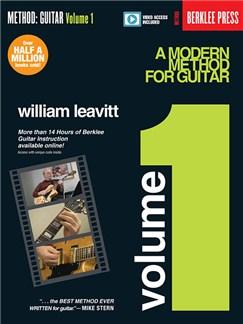 William Leavitt: A Modern Method For Guitar – Volume 1 (Book/Online Video) Books and Digital Audio | Guitar