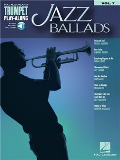 Trumpet Play-Along Volume 7: Jazz Ballads (Book/Online Audio) Books and Digital Audio | Trumpet