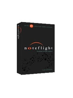 Noteflight: 3 Year Premium Subscription Box Digital Audio |
