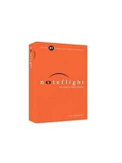Noteflight: 5 Year Premium Subscription Box Digital Audio |