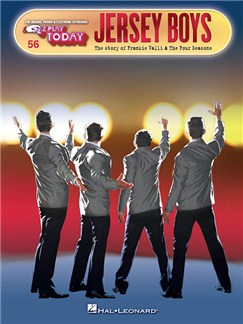 E-Z Play Today Volume 56: Jersey Boys Books | Piano, Organ, Keyboard