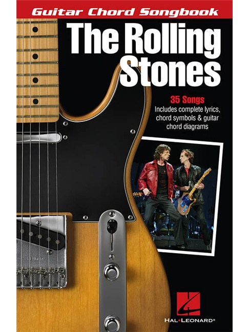 The Rolling Stones: Guitar Chord Songbook - Lyrics & Chords Sheet ...