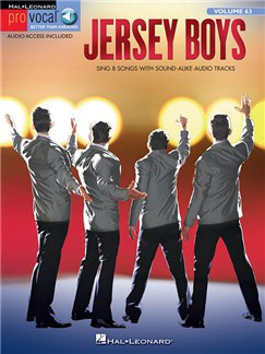 Pro Vocal Men's Edition - Volume 63: Jersey Boys (Book/Online Audio) Books and Digital Audio | Voice