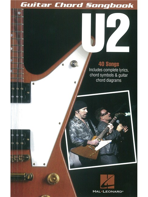 U2: Guitar Chord Songbook - Guitar Sheet Music - Sheet Music ...