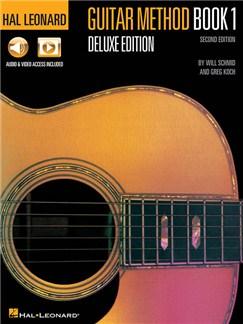 Hal Leonard Guitar Method: Book 1 – Deluxe Edition (Book/Online Audio) Books and Digital Audio | Guitar