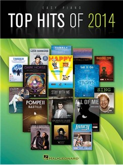 Top Hits Of 2014: Easy Piano Songbook Books | Piano, Easy Piano