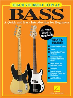 Teach Yourself To Play Bass: A Quick And Easy Introduction For Beginners Books | Bass Guitar