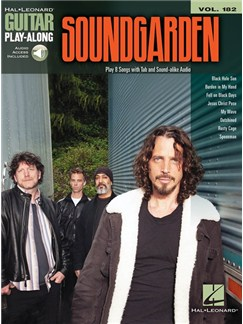Guitar Play-Along Volume 182: Soundgarden (Book/Online Audio) Books and Digital Audio | Guitar Tab