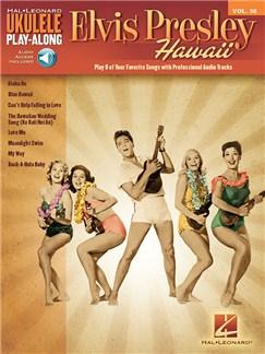 Ukulele Play-Along Volume 36: Elvis Presley (Book/Online Audio) Books and Digital Audio | Ukulele