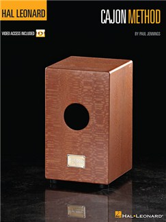 Hal Leonard Cajon Method Books | Cajon
