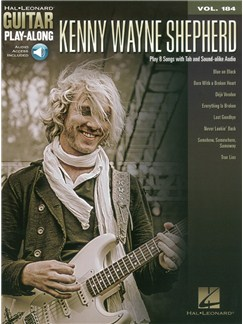 Guitar Play-Along Volume 184: Shepherd Kenny Wayne (Book/Online Audio) Books and Digital Audio | Guitar