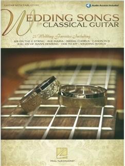 Wedding Songs For Classical Guitar (Book/Online Audio) Books and Digital Audio | Guitar, Guitar Tab