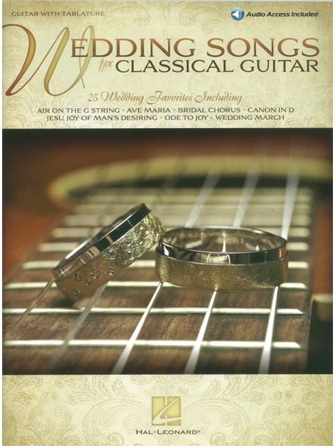 Wedding Songs For Classical Guitar (Book/Online Audio) - Guitar ...