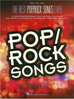 The Best Pop/Rock Songs Ever (PVG) Books | Piano, Vocal & Guitar
