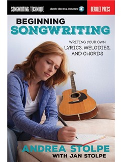 Beginning Songwriting (Book/Online Audio) Books and Digital Audio |