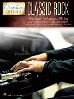 Creative Piano Solos: Classic Rock Books | Piano