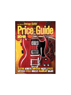 The Official Vintage Guitar Price Guide 2015 Books | Guitar, Electric Guitar, Bass Guitar