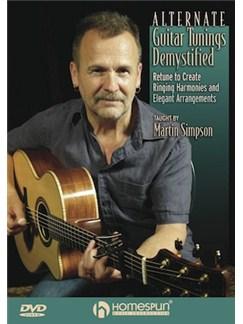 Martin Simpson: Alternate Guitar Tunings Demystified DVDs / Videos | Guitar