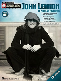 Jazz Play-Along Volume 189: John Lennon (Book/CD) Books and CDs | B Flat Instruments, E Flat Instruments, Bass Clef Instruments, C Instruments