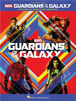 Guardians Of The Galaxy Books | Piano, Vocal & Guitar