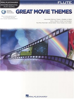 Instrumental Play-Along: Great Movie Themes - Flute (Book/Online Audio) Books and Digital Audio | Flute