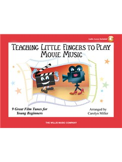 Carolyn Miller: Teaching Little Fingers To Play Movie Music (Book/Online Audio) Books and Digital Audio | Piano