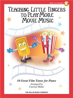 Teaching Little Fingers To Play More Movie Music (Book/Online Audio) Books and Digital Audio | Piano