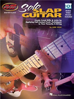 Jude Gold: Solo Slap Guitar (Book/Online Audio) Books and Digital Audio | Guitar