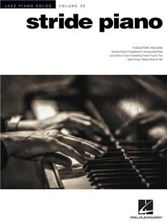 Jazz Piano Solos Volume 25: Stride Piano Books | Piano