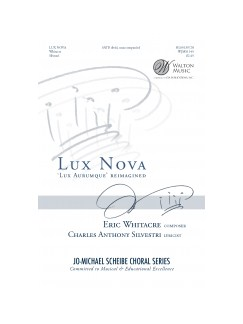 Eric Whitacre: Lux Nova Books | SATB