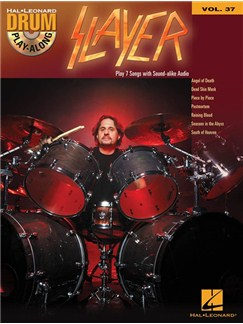 Drum Play-Along Volume 37: Slayer (Book/CD) Books and CDs | Drums