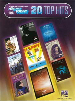 E-Z Play Today 106: 20 Top Hits Books | Keyboard, Piano, Organ