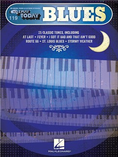 E-Z Play Today 119: Blues Books | Piano