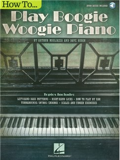 How To Play Boogie Woogie Piano (Book/Online Audio) Books and Digital Audio | Piano