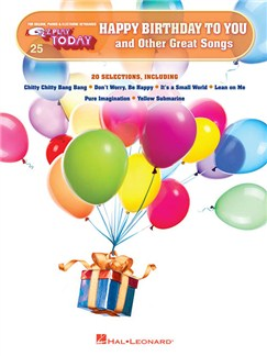 E-Z Play Today: Happy Birthday To You And Other Great Songs Books | Piano, Keyboard, Organ