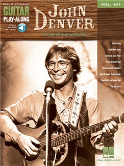 Guitar Play-Along Volume 187: John Denver (Book/Online Audio) Books and Digital Audio | Guitar