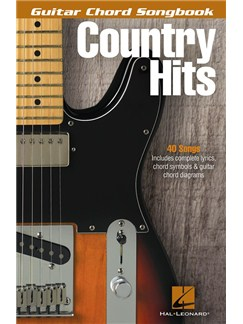 Guitar Chord Songbook: Country Hits Books | Guitar/Lyrics & Chords
