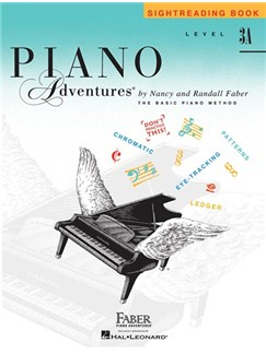 Level 3A: Sightreading Book - Piano Adventures Books | Piano